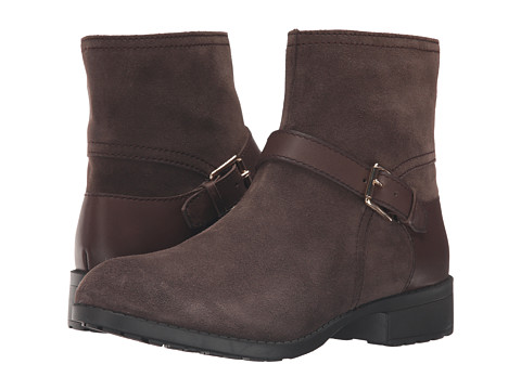 Incaltaminte Femei Cole Haan Marla Bootie Waterproof Dark Taupe SuedeDark Taupe Leather