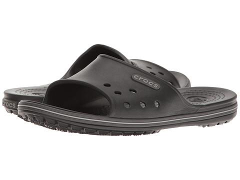 Incaltaminte Femei Crocs Crocband II Slide BlackGraphite