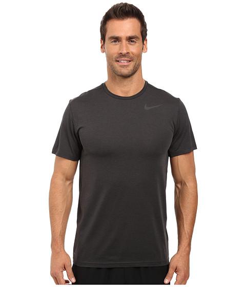 Imbracaminte Barbati Nike Dry Short Sleeve Training Top BlackAnthraciteBlack