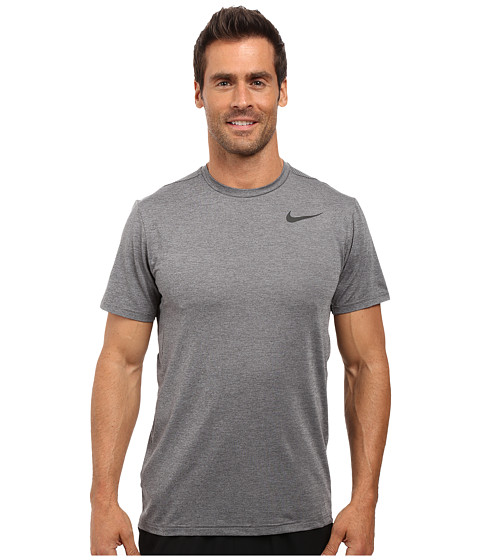 Imbracaminte Barbati Nike Dry Short Sleeve Training Top Dark GreyWolf GreyBlack