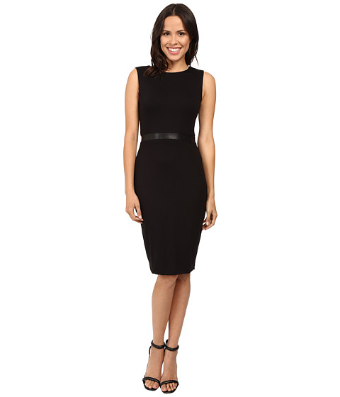 Imbracaminte Femei Three Dots Bodycon Double Zip Two Way Dress Black