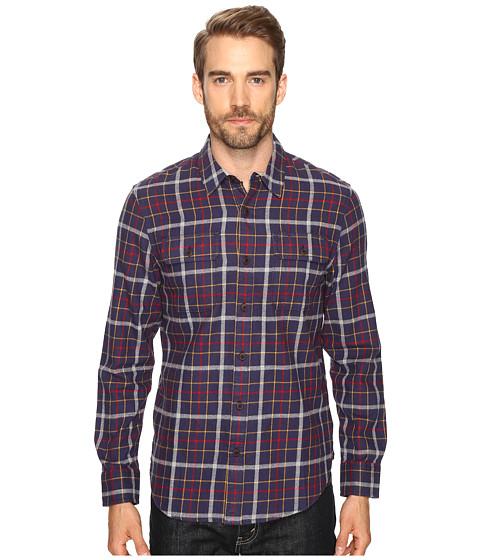 Imbracaminte Barbati Lucky Brand Miter Two-Pocket Shirt NavyHeatherRed