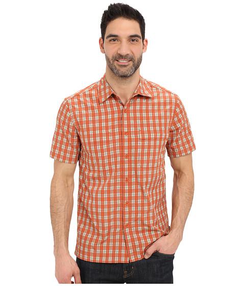 Imbracaminte Barbati Royal Robbins Diablo Plaid Short Sleeve Shirt Salsa