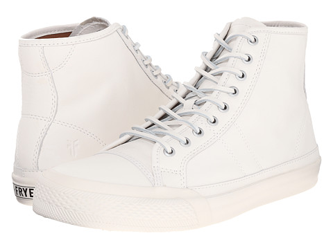 Incaltaminte Barbati Frye Greene Tall Lace White Matte Leather