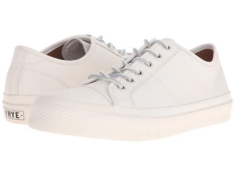 Incaltaminte Barbati Frye Greene Low Lace White Matte Leather