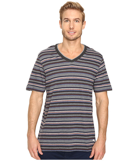 Imbracaminte Barbati Tommy Bahama Yarn-Dye Cotton Modal Jersey V-Neck Tee Sail Striped Heather Multi