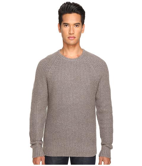 Imbracaminte Barbati Jack Spade Shaker Stitch Ribbed Crew Neck Sweater Mink