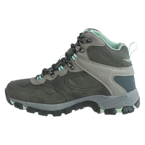 Incaltaminte Femei Hi-Tec Hi-Tec Altitude Lite i-shield Hiking Boots - Waterproof CHARCOALGREYLICHEN (01)