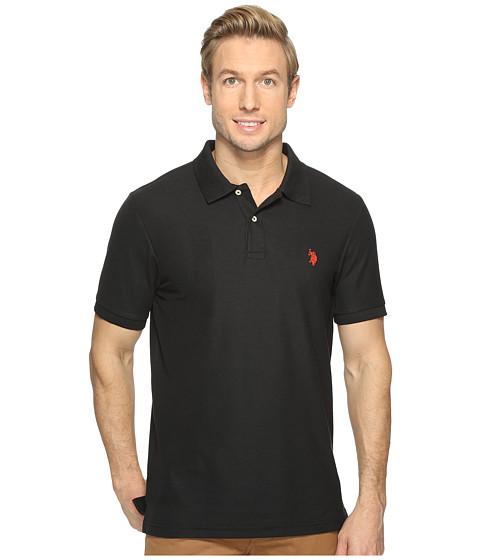 Incaltaminte Barbati US Polo Assn Ultimate Pique Polo Shirt Black