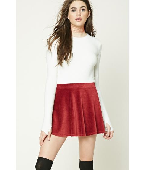 Imbracaminte Femei Forever21 Longline Fleece Sweater Cream