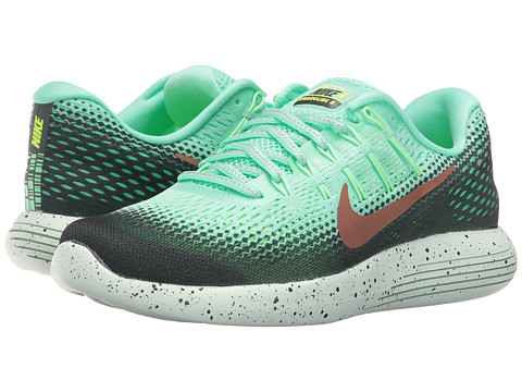 Incaltaminte Femei Nike LunarGlide 8 Shield Green GlowHastaGhost GreenMetallic Red Bronze