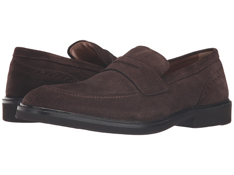 Incaltaminte Barbati Florsheim Hamilton Penny Slip-On Brown Suede
