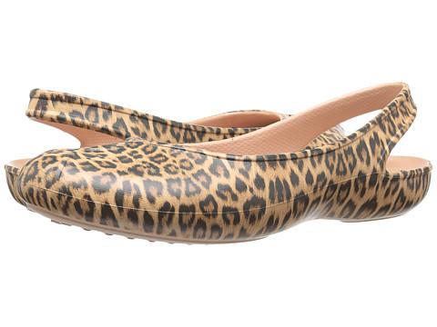 Incaltaminte Femei Crocs Olivia II Graphic Leopard