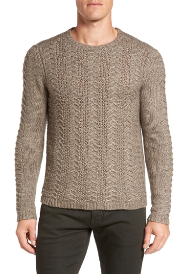 Imbracaminte Barbati John Varvatos Star USA Textured Knit Sweater BALSA