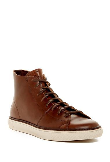 Incaltaminte Barbati Frye Gates High Top Leather Sneaker WHISKEY