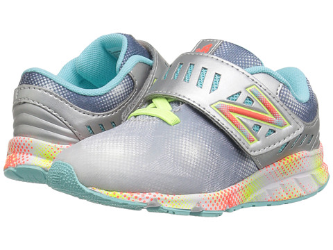 Incaltaminte Fete New Balance Kids Electric Rainbow 200 HampL (InfantToddler) GreyMulti