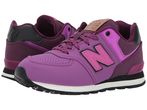 Incaltaminte Fete New Balance KL574v1 (Little Kid) PurpleBlack