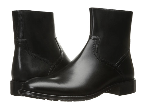 Incaltaminte Barbati Florsheim Capital Plain Toe Zip Boot Black Smooth