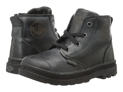 Incaltaminte Baieti Palladium Pampa Hi Leather Zip (Toddler) Black