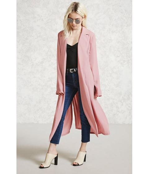 Imbracaminte Femei Forever21 Contemporary Belted Jacket Mauve