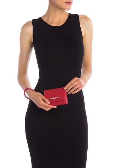 Genti Femei Steve Madden French Wristlet Wallet RED