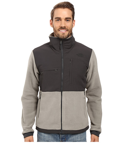 Imbracaminte Barbati The North Face Denali 2 Jacket Recycled Moon Mist GreyAsphalt Grey (Prior Season)