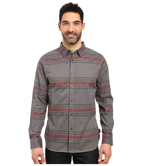 Imbracaminte Barbati The North Face Long Sleeve Approach Flannel TNF Medium Grey Heather (Prior Season)