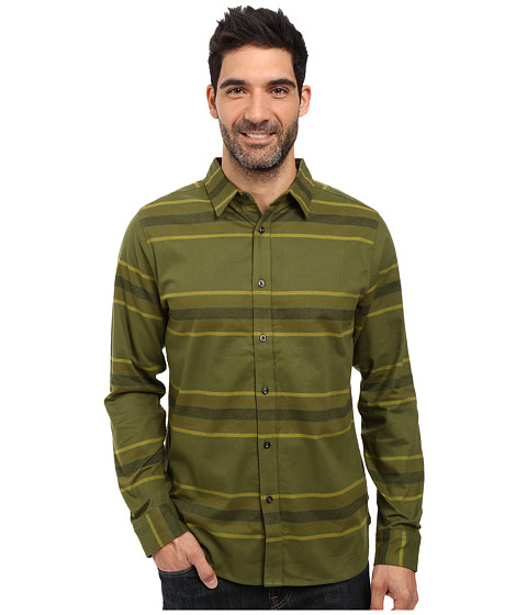 Imbracaminte Barbati The North Face Long Sleeve Approach Flannel Terrarium Green (Prior Season)