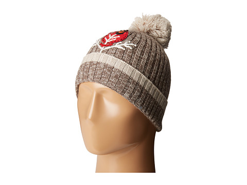 Accesorii Femei Smartwool Charley Harper Cardinal Pom Beanie Taupe