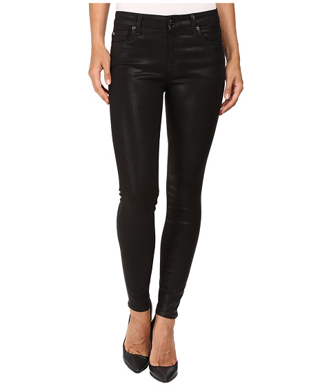 Imbracaminte Femei 7 For All Mankind The Ankle Skinny in Coated Fashion Coated Fashion