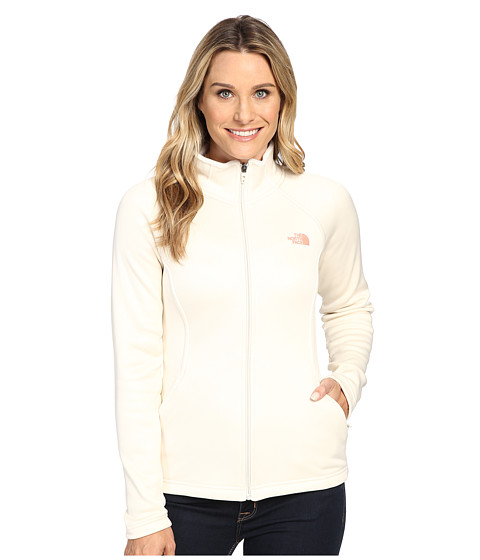 Imbracaminte Femei The North Face Agave Full Zip Vintage White Heather (Prior Season)