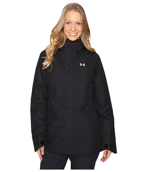 Imbracaminte Femei Under Armour UA CGI Powerline Ins Jacket BlackGlacier Gray
