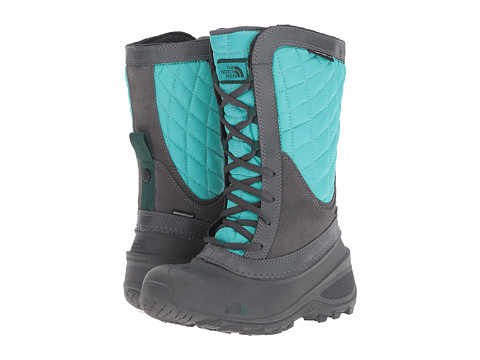 Incaltaminte Fete The North Face ThermoBall Shellista (ToddlerLittle KidBig Kid) Dark Shadow GreyIon Blue