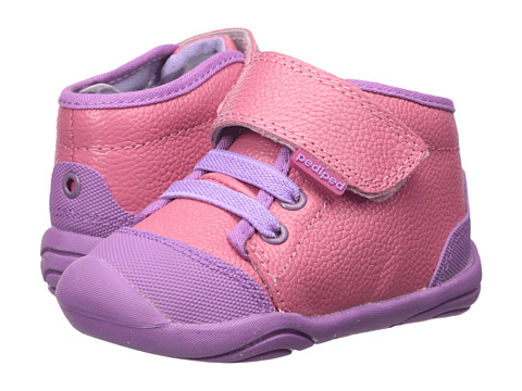 Incaltaminte Fete pediped Jay Grip n Go (Toddler) Mid Pink