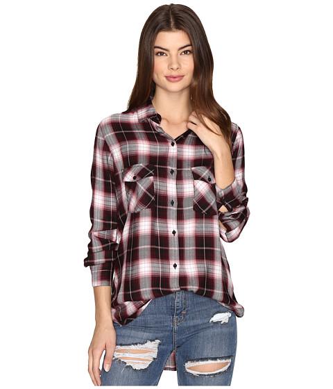 Imbracaminte Femei BB Dakota Ebson Plaid Shirt Boysenberry