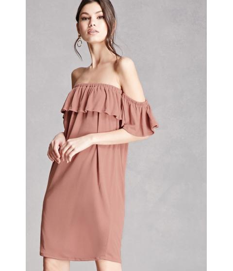 Imbracaminte Femei Forever21 Off-the-Shoulder Mini dress Blush