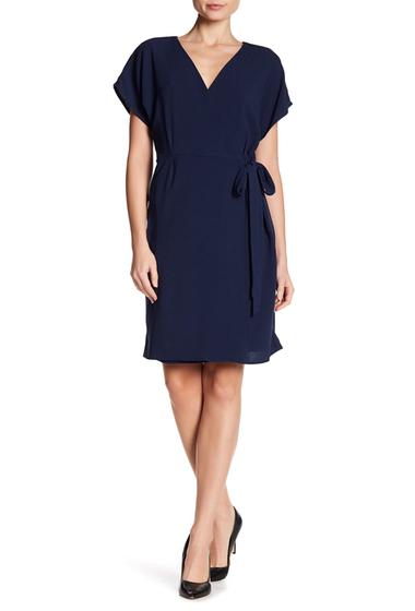 Imbracaminte Femei Bobeau Crepe Wrap Dress NAVY