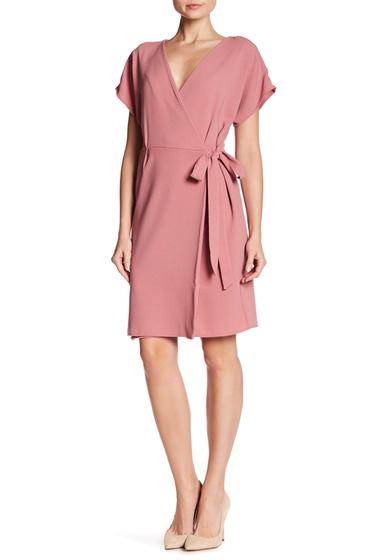 Imbracaminte Femei Bobeau Crepe Wrap Dress MAUVE