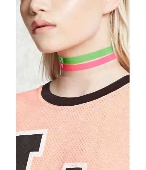 Bijuterii Femei Forever21 Jelly Choker Set Pinkgreen