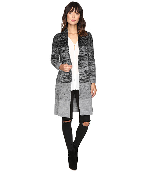 Imbracaminte Femei Brigitte Bailey Azalea Long Sleeve Pocketed Cardigan BlackGrey