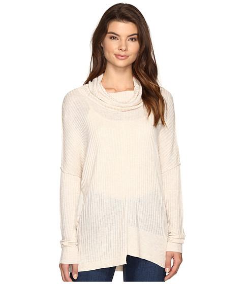 Imbracaminte Femei Brigitte Bailey Algelie Cowl Neck Ribbed Sweater Oatmeal