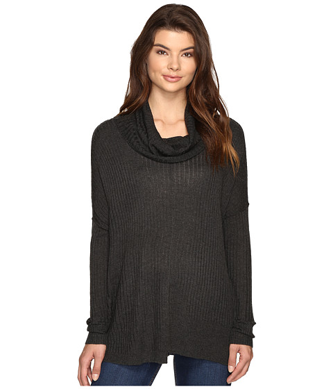 Imbracaminte Femei Brigitte Bailey Algelie Cowl Neck Ribbed Sweater Steel