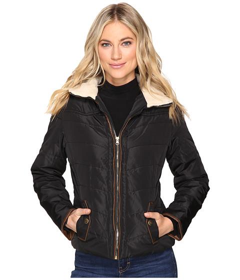 Imbracaminte Femei Brigitte Bailey Solo Jacket w Sherpa Lined Collar Black