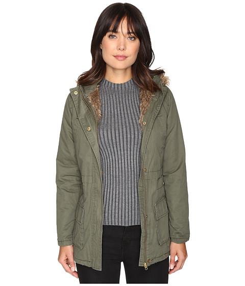 Imbracaminte Femei Brigitte Bailey Seven Card Long Jacket Olive