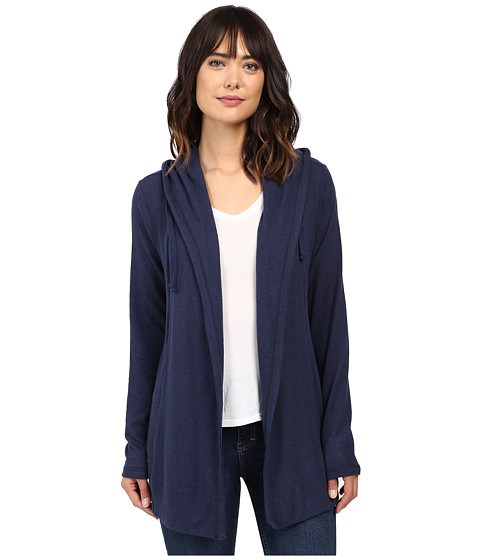 Imbracaminte Femei Culture Phit Halle Hoodie Cardigan with Drawstring Navy