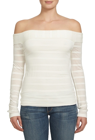 Imbracaminte Femei 1State Off-the-Shoulder Shirt NEW IVORY