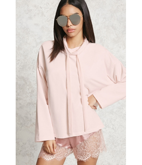 Imbracaminte Femei Forever21 Cowl Neck Sweatshirt Pink