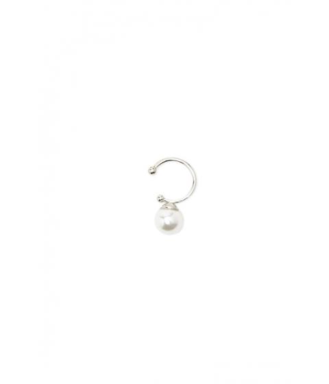 Bijuterii Femei Forever21 Faux Pearl Lip Ring Creamsilver