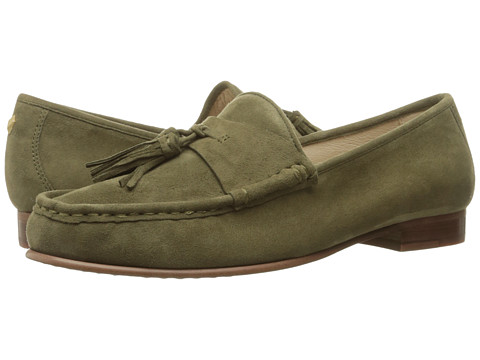 Incaltaminte Femei Sam Edelman Therese Moss Green Kid Suede Leather