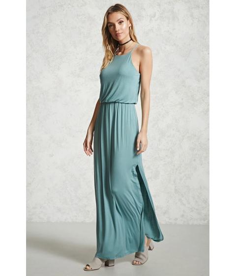 Imbracaminte Femei Forever21 Draped Jersey Maxi Dress Aqua